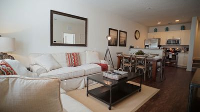 Photo for Enjoy Orlando With Us - Lucaya Village - Feature Packed Cozy 3 Beds 2 Baths Townhome - 3 Miles To Disney