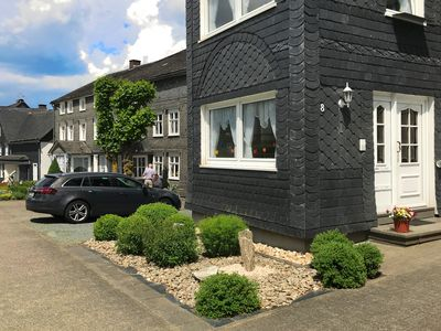Photo for Cosy apartment in the Sauerland region in a district of Winterberg