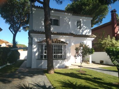 Photo for The chilli pepper Villa with pool 400m from the beach of La Barrosa.