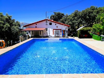 Photo for Charming cottage with private pool for relaxing-Beautiful views to the mountains