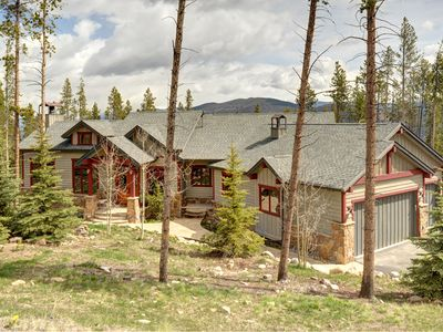 Photo for Luxurious Custom Built House With Spectacular Views, Hot Tub, Home Movie Theater