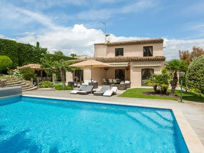 Photo for Beautiful Family Villa Near Mougins School