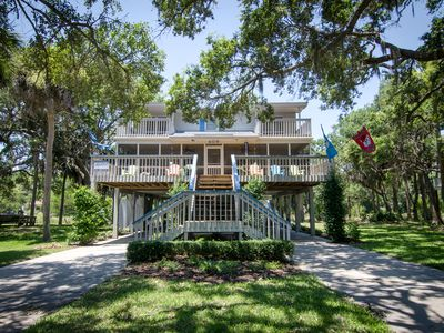 Photo for Big Oak Landing - Well Maintained Beach Walk Home - 4BR/2.5BA