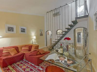 Photo for Spacious Scarlett apartment in Santa Maria Novella with WiFi, integrated air conditioning & private…