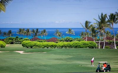 Photo for BREATH TAKING VIEWS - Hualalai Fairway Villa 120A, 3/3.5