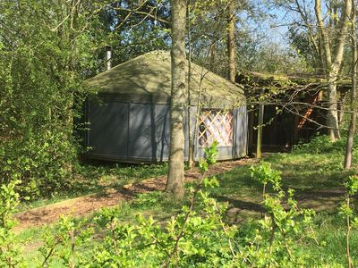 Photo for Yurt (5m wide) in the Cotswolds perfect for a romantic getaway