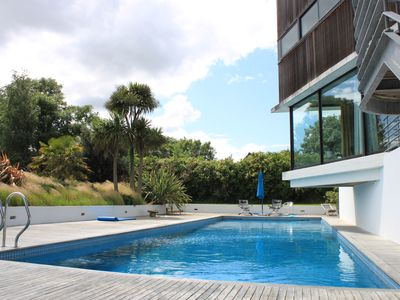 Photo for House sea view south architect. 5 ch, park, pool, tennis, sauna ...