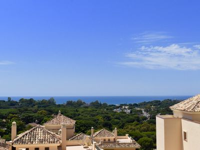 Photo for Duplex Penthouse in East Marbella, hot tub, sea views walking distance to beach