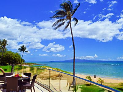 Photo for Oceanfront/Beachfront South Maui Luxury Villa, 20 Yards to Beach