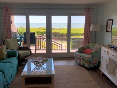Photo for Beautiful First Floor Oceanfront Condo Kitchen Renovated 2020