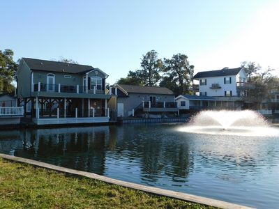 Photo for Stunning 3 Bedroom, 2 Bath lakefront house in Ocean Lakes