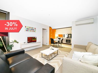 Photo for A Cozy 2BR Suite + Large Balcony at Southern Cross