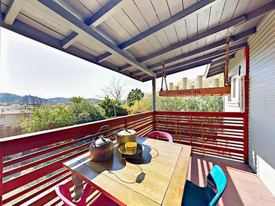 Deck - Welcome to LA! This beautifully restored craftsman home is professionally managed by TurnKey Vacation Rentals.