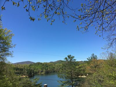 Photo for Updated Lake Glenville  Cottage// sleeps 8/Mt & Lake VIEWS  + Lake ACCESS