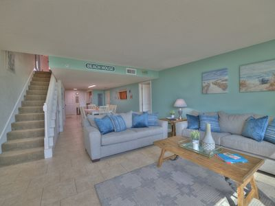 Photo for Stunning 3BR Beachfront Condo w/ Gorgeous Views & Boat Dock!