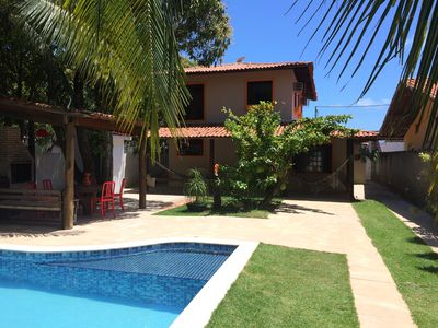 Photo for House of 4 Qtos being 2 Suites, Pool and Barbecue in the best of Serrambí.