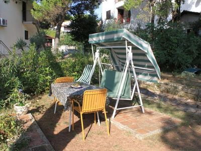 Photo for Two bedroom apartment with terrace and sea view Rovinj