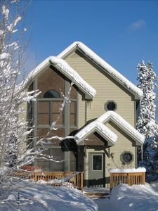 Photo for Cozy Mt Home within 6mi of skiing & 1/4mi of great biking & hiking trails