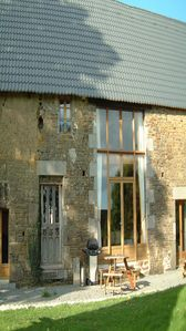 Photo for Granier, gite 2, sleeps 4 with heated shared swimming pool in beautiful Normandy