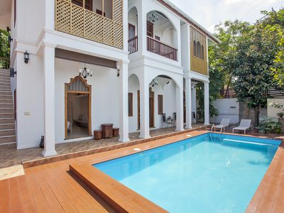 Photo for ⭐The Serene Escape 5BR Sleeps 10 w/ Pool in City