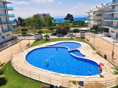 Photo for Apartamento vista al jardin para 6 personas en Cambrils(98478)