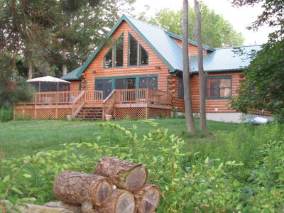 Photo for Abbeywood Cabin ----- Luxury on the lake