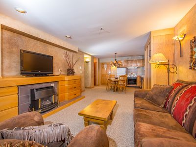 Photo for Ski-in/ski-out with shared heated pool/hot tub, & unbeatable mountain views!
