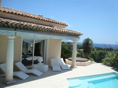 Photo for LUXURY VILLA 350 M2 - SEA VIEW 180 - STEAM-ROOM CINEMA-JACCUZI- FOR 8 PERS.