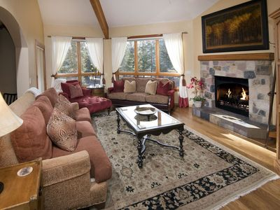 Photo for A vacation condo surrounded by everything you came to Vail for. And the family chef will love this f