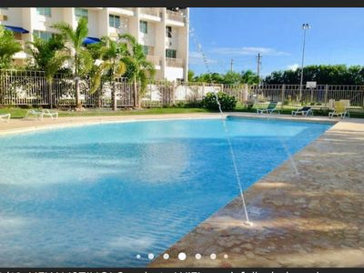 Photo for The beautiful COMBATE BY THE BEACH! WiFi, Pool,Full AC, Laundry, Cable TV