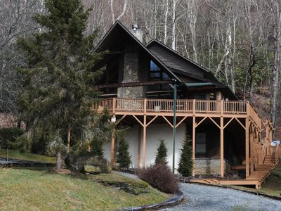 Photo for Upscale Log Cabin in Valle Crucis, NC