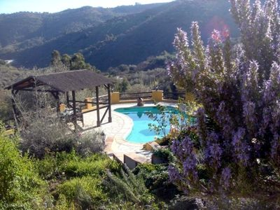 Pool and views, taken from the stunning Courtyard