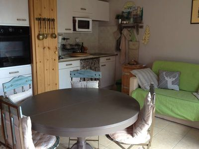 Photo for 3 south-facing rooms in charming cottage, panoramic mountain and valley