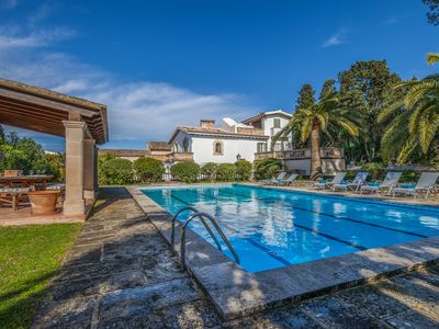 Photo for NEW!  Exquisite holiday house with XXL pool, garden and BBQ terrace, in Montuïri