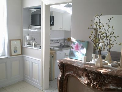 Photo for Bright cottage 200 meters from the Port. Near all shops on foot, quiet street.