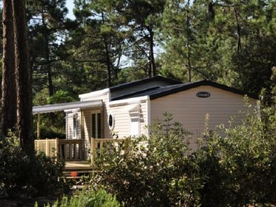 Photo for Camping Domaine des Pins **** - Mobile Home 3 Rooms 5 adults + 1 child
