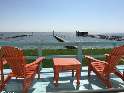 Get Away From It All! Waterfront Home on San Antonio Bay; 300' Private Pier