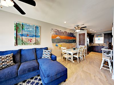 Photo for 12GS: Nicely Decorated with Coastal Theme, 4Br, 3ba. Sleeps 12 / Heated Pool