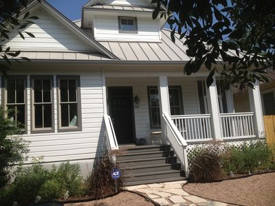Photo for SOCO - Private Upstairs Duplex -  Walk Dntwn and to Lake (South Congress)