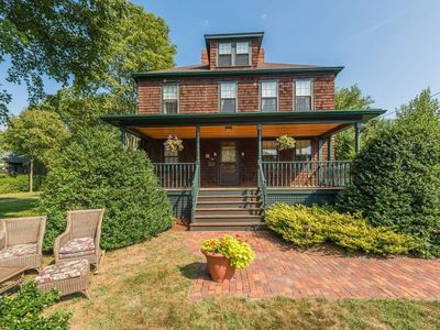 Historic 1880 Pristine Victorian in the Pier of Narragansett - One of a Kind!