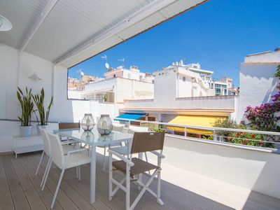 Photo for SIMP ATTIC Elegant and centrally located with two terraces in Sitges.