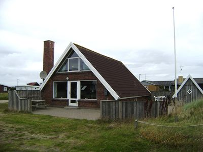 Photo for Vorupør. 110m2 nice holiday house located very near the North Sea. Internet