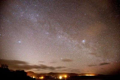 The Milky Way from the decking Mar 17.
