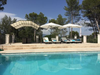 Photo for Beautiful Villa with Pool between Nice and Cannes