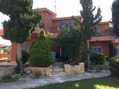 Photo for Stunning 2 bedroom house in popular Tomb of the Kings area with shared pool.