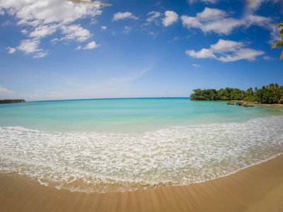 aaah...paradise. Truly a beach for the whole family. You are a short walk straig