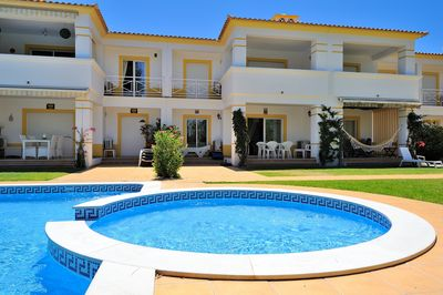 View of the house from the kids Swimming Pool