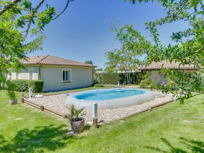 Photo for large villa with pool and garden