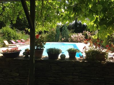 Photo for Heated private pool, disabled access DRC, Gardens, quiet, family