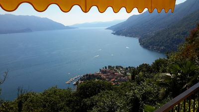 Photo for Dreamlike Ticino house near Cannero fascinating lake view 2018 newly renovated
